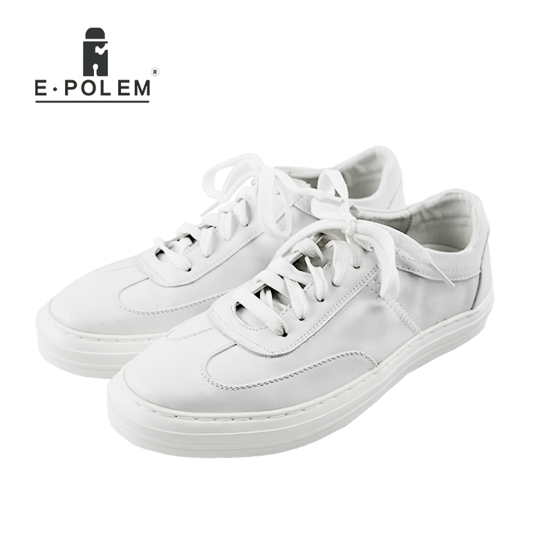 2017 Spring Summer Men's Casual Fashion Shoes  Korean Style Men Shoes Black White Breathable  PU Leather Flats Shoes Zapatos the spring and summer men casual shoes men leather lace shoes soled breathable sneaker lightweight british black shoes men