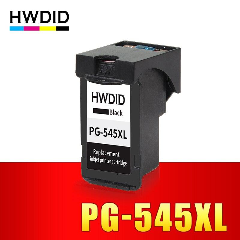 HWDID PG545 Schwarz tinte patrone ersatz für Canon PG-545 PG 545 XL für Canon IP2850 MG2400 MG2450 MG2500 MG2550 Drucker