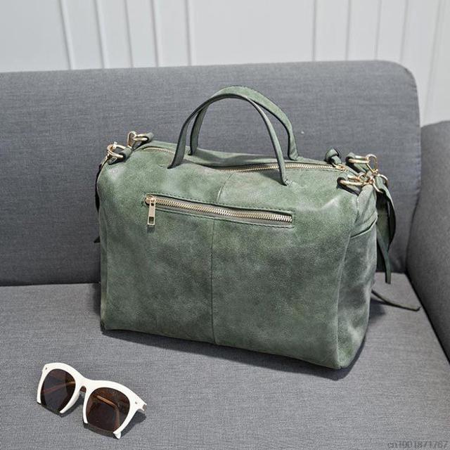 Womens Leather Shoulder Bag
