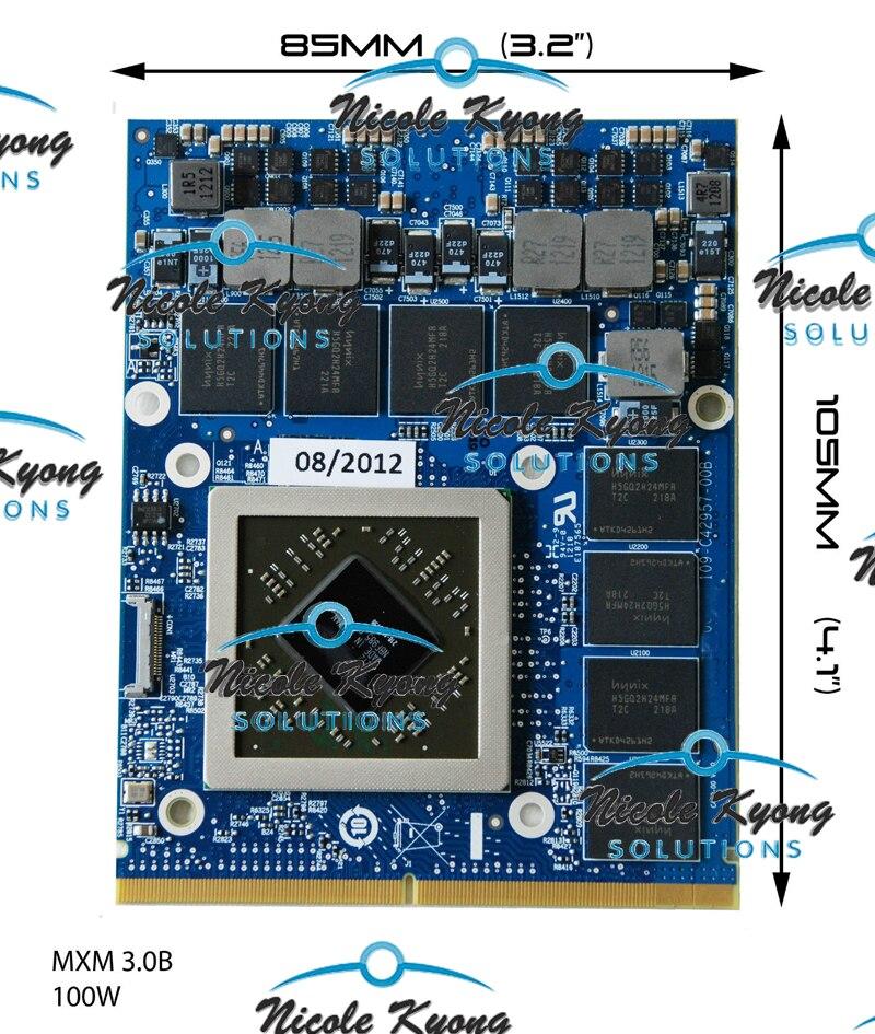 09XVK3 0747M2 HD 7970M HD7970M 2G MXM DDR5 VGA Video Card for Alienware m17x R3 R2 R4 m15x r2 M18X M6600 M6700