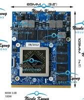 100% работа 09XVK3 0747M2 HD 7970 м HD7970M 2 г MXM DDR5 VGA видео карты для Alienware m17x R3 R2 r4 m15x r2 M18X M6600 M6700