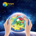 3D Ball Maze Puzzle Labyrinth Magical Intellect Maze Ball Perplexus Ball Intelligence Educational Toys for Children 100 Barriers