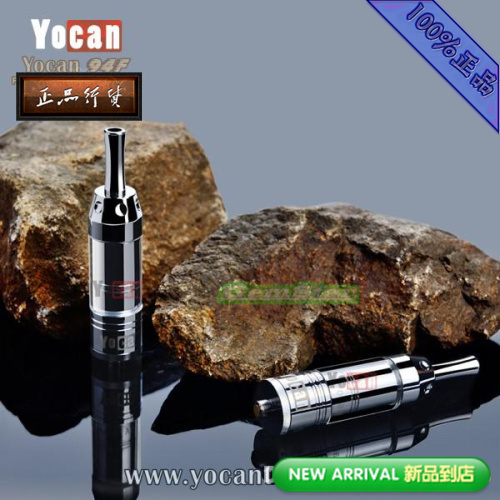 100% Authentic Yocan 94F Dry Herb Vaporizer Detachable Atomzier 94F Dry Herb Vaporizer Clearomizer free ship