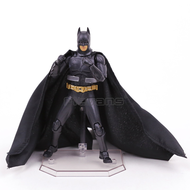 Batman The Dark Night Begins Suit Ver. PVC Action Figure Collectible Model Toy ...