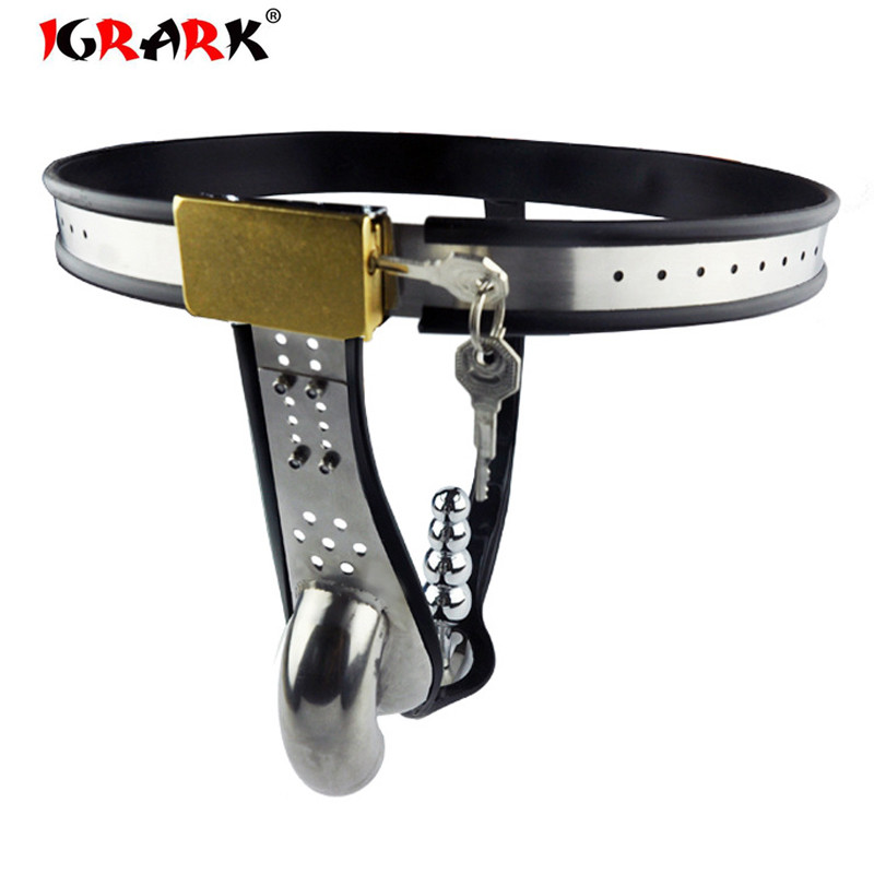 Stainless Steel Male Underwear Chastity Belt with Anal Plug Chastity Cages Chastity Device Cock Cage Penis