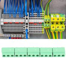 50pcs/Lot 3-Pin 5mm Pitch Screw Terminal Block KF126V-5.0-3P PCB Mount Screw Terminal Block Wiring Connector 26-14AWG цены