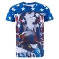 American Flag Men 3D T Shirt Eagle Tops