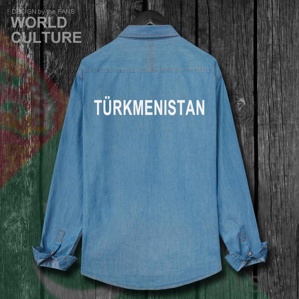 Turkmenistan Turkmen TKM Men Fashion Clothes Spring Autumn