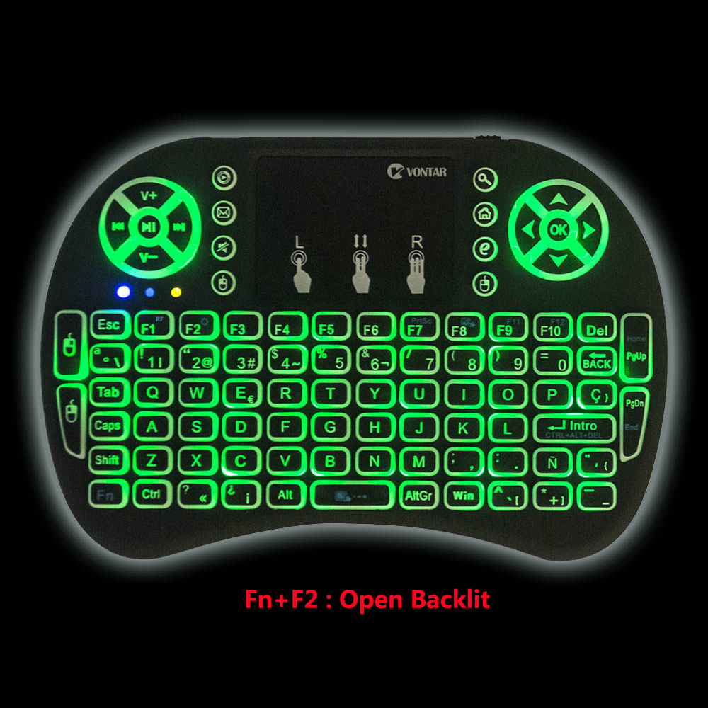 Backlight mini i8 2.4GHz Wireless keyboard Spanish Russian English Hebrew Normal i8 Keyboard Remote control For Android TV BOX спальный мешок tramp mersey l цвет оранжевый серый левосторонняя молния
