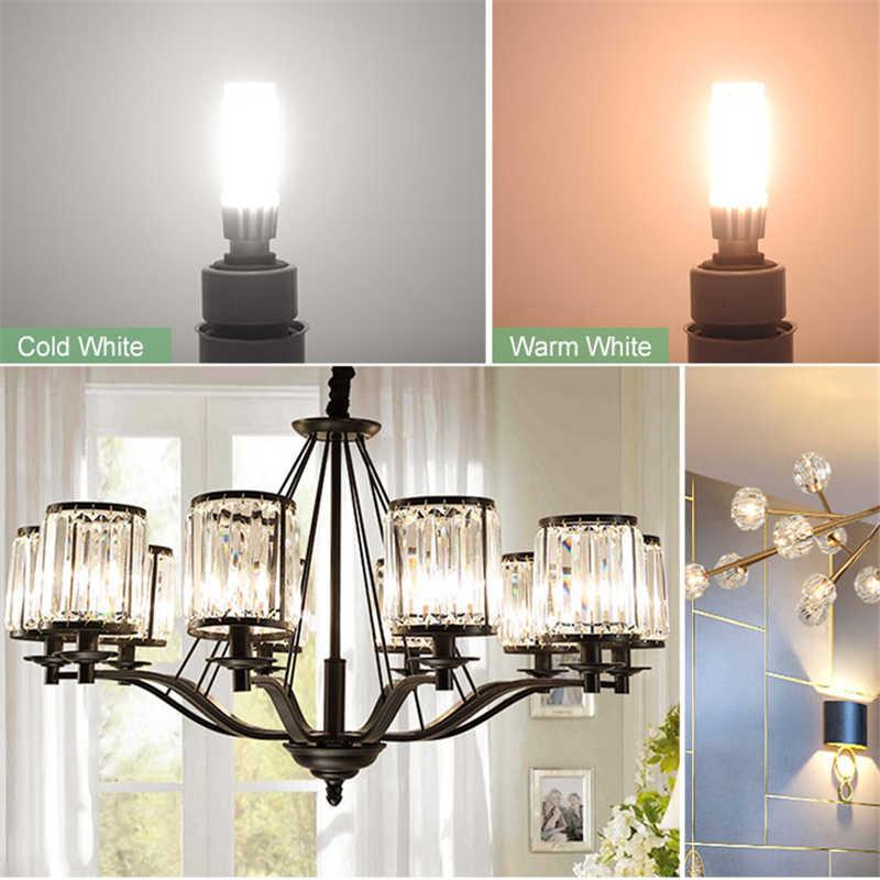 סופר מואר 7 W 9 W 12 W 15 W E14 Led נר הנורה 220 V LED G9 תירס מנורה 2835 SMD חיסכון באנרגיה אור לבית נברשת תאורה