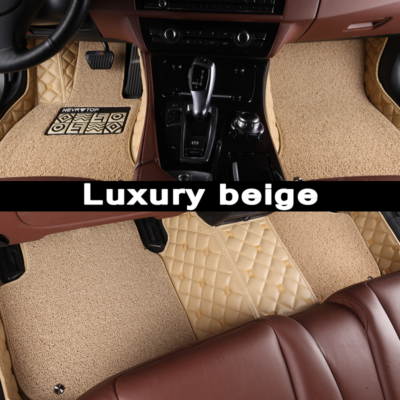 Tapis de sol de voiture CARFUNNY adaptés à la conduite à main LHD et à la conduite à main RHD tous les modèles pour Land Rover Discovery 3 4 Range Rover n Sport Evoque