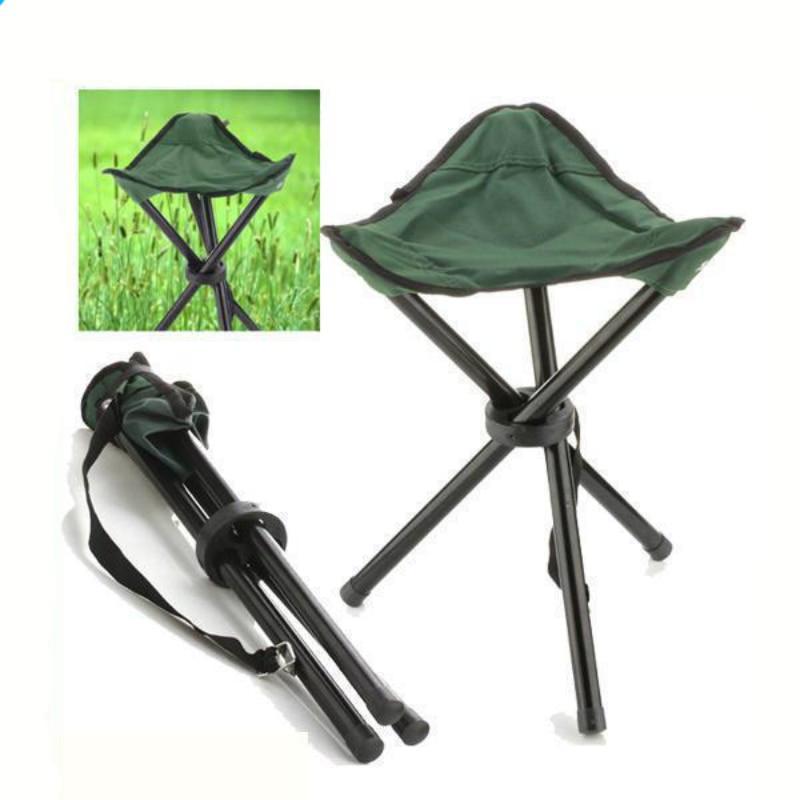 Foldable Fishing Chair Portable Hot Sale Portable Metal Fishing Stool For Fishing Camping Garden Beach Picnic Fold Chair