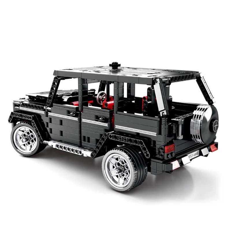 Off road SUV Car Compatible Merceding Benz G500 Building Blocks 1343pcs Bricks Kits Education Toys for
