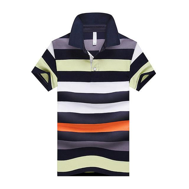 Casual Striped Slim short sleeve