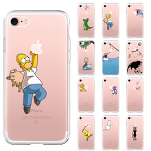 Soft Silicone TPU Cool Pattern Phone Case For iPhon