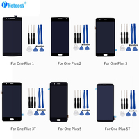 LCD Display+Touch Screen Assembly For Oneplus 1+A0001 A2001 A3000 A3003 A3010 A5000 A5010 Mobile Phone LCDs For One plus 2 3T 5T