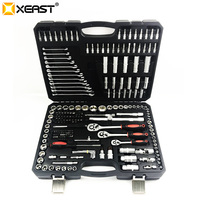 XEAST 216 PC Tool Set for Car Repair Tools Mechanic Tool Socket Set Wrench Ratchet Spanner Set