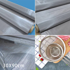 30x90cm 120 Mesh Stainless Steel Woven Wire Filter 120 Mesh Screen Mesh Filter New
