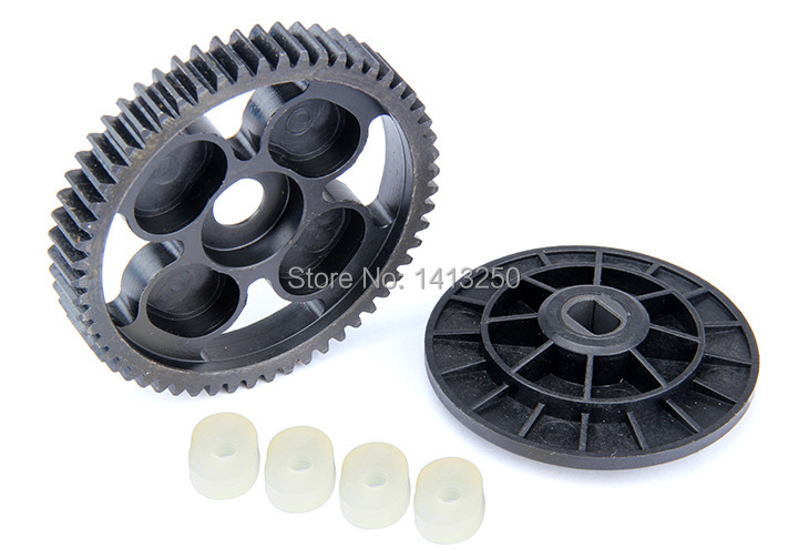все цены на  Baja Spare parts, 57T metal spur gear set with  free shippings  онлайн