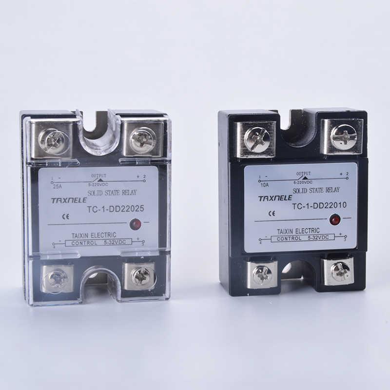 DC-DC monophasé relais à semi-conducteurs DD sortie 5-220VDC entrée 5-32VDC SSR relais industriel Module de relais à semi-conducteurs