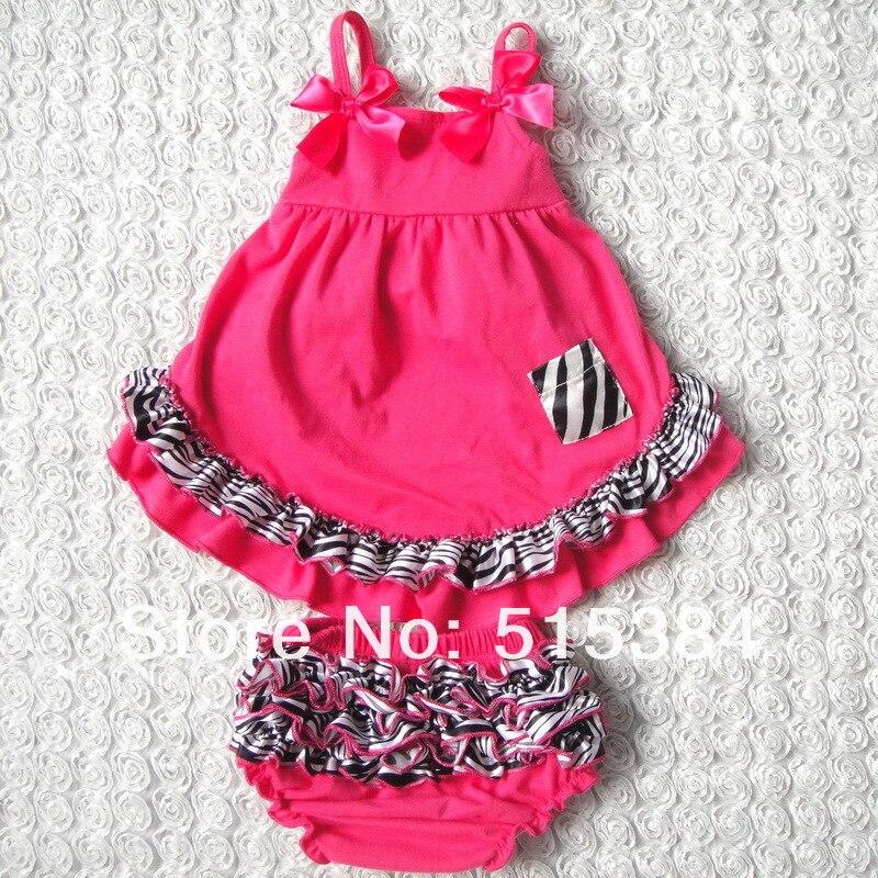 b35bdf8fb8bb0 hot pink zebra clothing kids baby clothes dropshipping autumn baby animal  print swing back top set 3sets lot free shipping