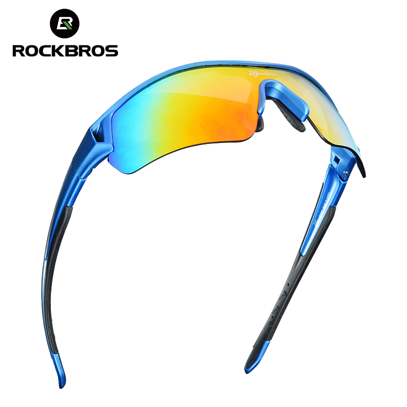 49436b5deb ROCKBROS los polarizado gafas ciclismo bicicleta gafas de sol UV400  corriendo conducción pesca gafas para hombre