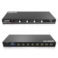 STEYR 1 3b HDMI True Matrix 4x4 HDMI Switch Splitter 4 Input 4 Output Support 3D