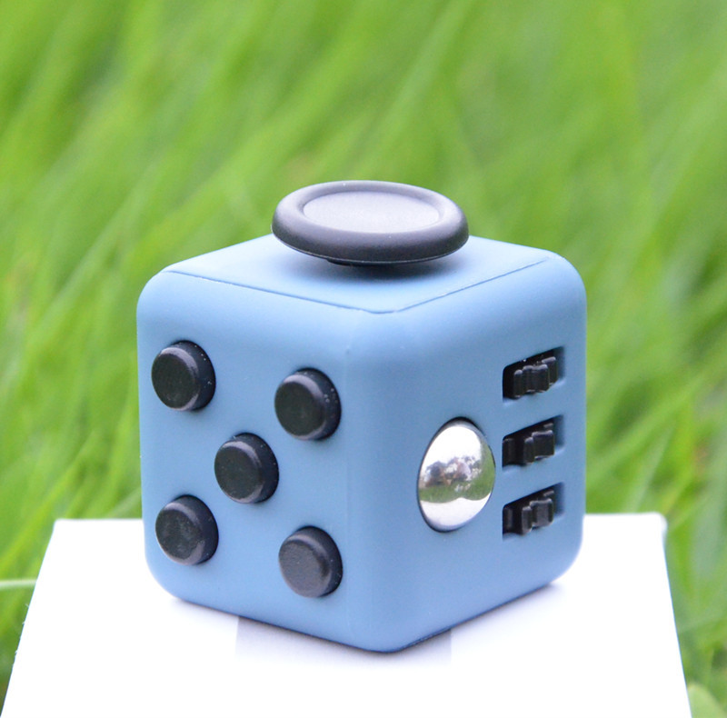 Big Size ! 3*3*3cm Magic Cube Toys Fidget Cube With Box Relieves Anxiety and Stress Juguet For Adults Fidgetcube Desk Spin Toys