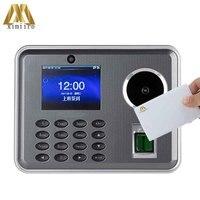 Gravação biométrica do tempo da impressão digital do comparecimento do tempo da palma Iclock680 P com relógio de tempo do cartão 13.56 mhz mf|Atendimento elétrico| |  -