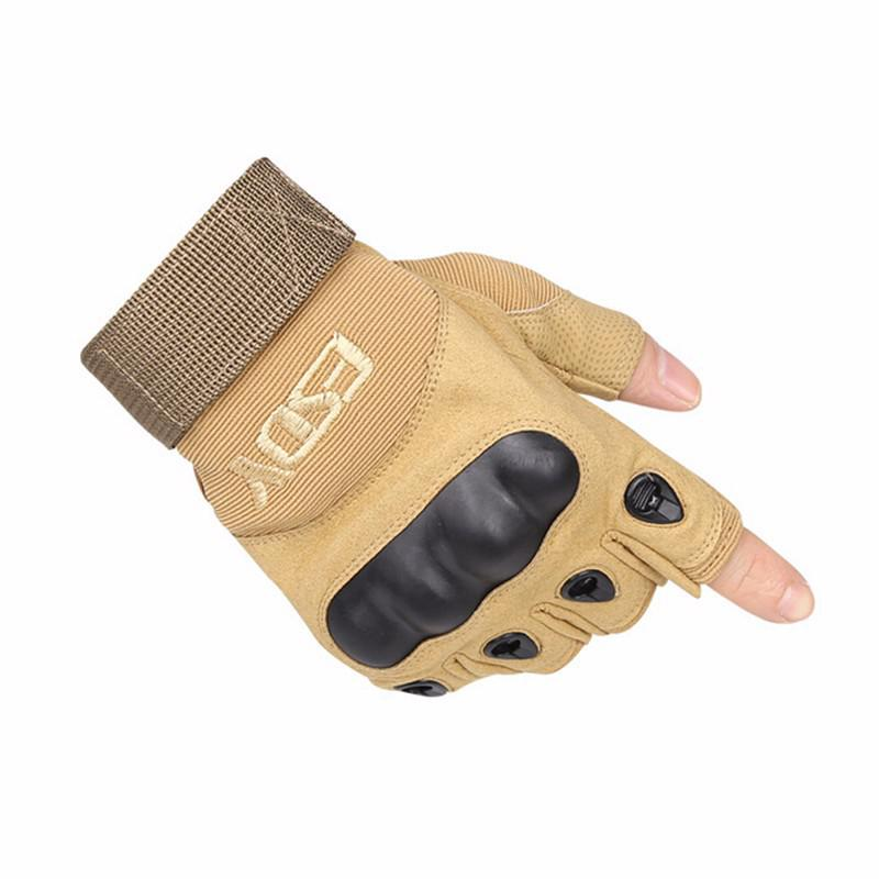Army Military Tactical man training Half- finger cycling slippery wear-resisting Mens Sport hunting Climbing Gloves Combat Gear