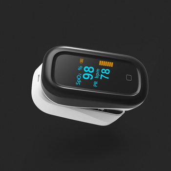 BOXYM Medical Finger Pulse Oximeter OLED Touch Full Screen blood oxygen Heart Rate Monitor Oximetro de dedo Saturometro Monitor 5