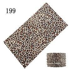 181-200 Fashion Bufanda Tubular Hijab Camo Bandana Scarf Seamless Neck Tube Bandana Standard Size 48*25cm Men Bandana