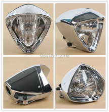 "6 ""Cromado Cobra Faros de Luz Para Honda Steed Motocicleta Shadow Magna"