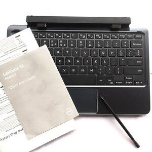 Image 5 - Original 90% Neue Tastatur mit stift batterie docking station für dell Latitude 11 5175 5179 K12M T54KN laptop untere abdeckung basis