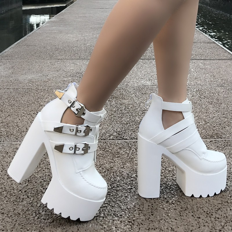 2018 new women s sandals fashion sexy 14 cm super high heel women s shoes stage
