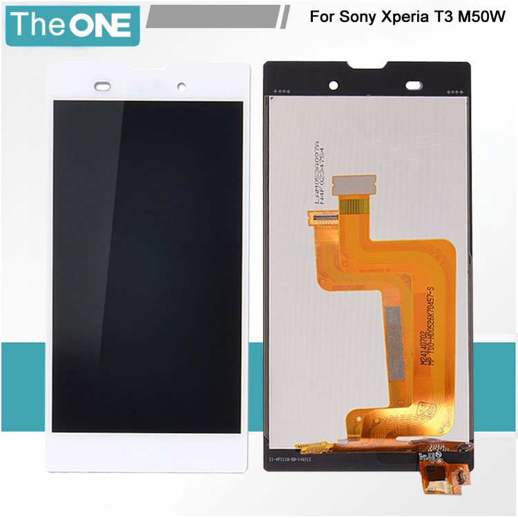 Подробнее о Full LCD Display with Touch Screen Digitizer Assembly for Sony for Xperia T3 M50w White Free Shipping for sony xperia t3 m50w d5102 d5103 d5106 lcd display with touch digitizer frame assembly by free shipping white
