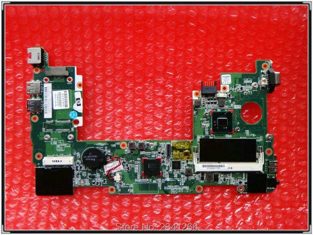 630966-001 para hp mini 110 mini210 placa madre del ordenador portátil para hp mini 110-3726tu netbook n455 ddr3 probó por completo el envío libre