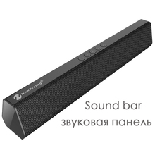 2018 New Sound Bar Game Speaker Wireless Bluetooth Big Power Portable Radio FM TF Handsfree Home Stereo 10W TV Speaker