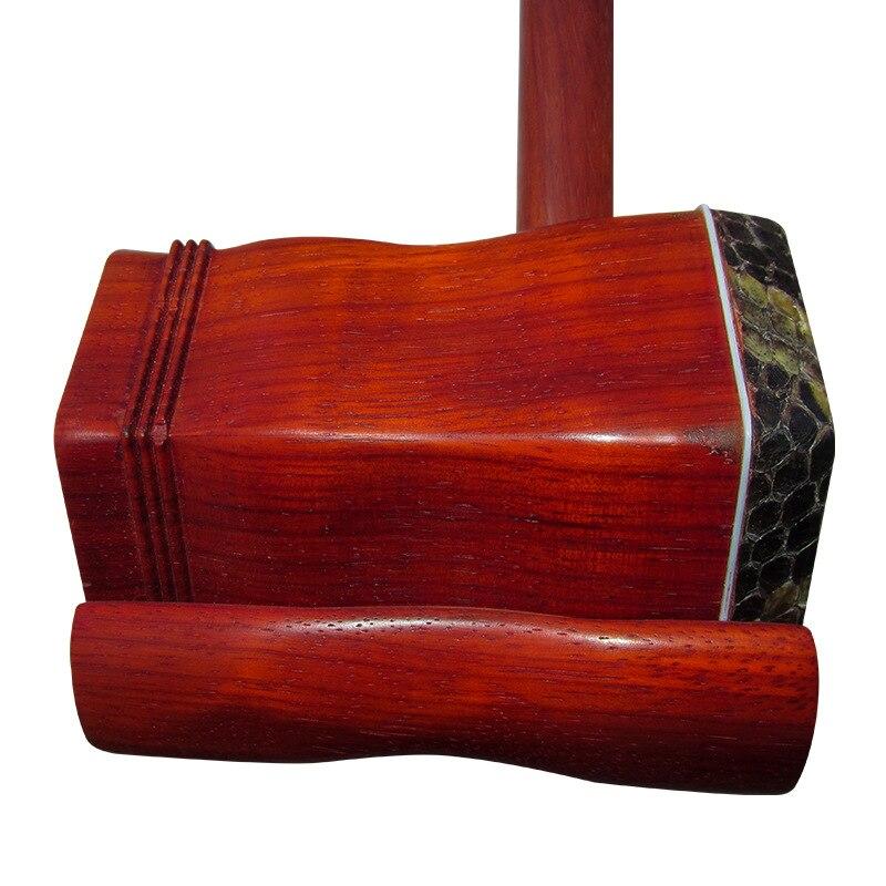 pólo forma sextavada rosewood com arco caso de transporte rosin