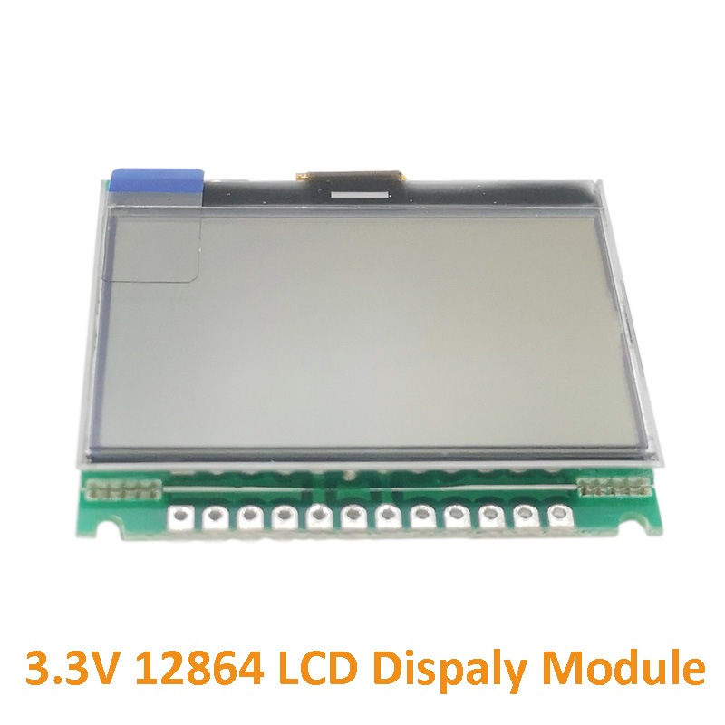 1PC 3.3V 12864 LCD Dispaly Module 12864G-086-P Dot Matrix Module With Backlight COG