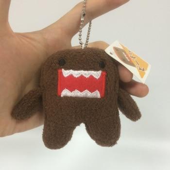 8 cm DOMO KUN Plush toys Phone Charm Pendant Lanyard doll Bag Key chain domokun funny kawaii keyring Domo-kun plush toy 4