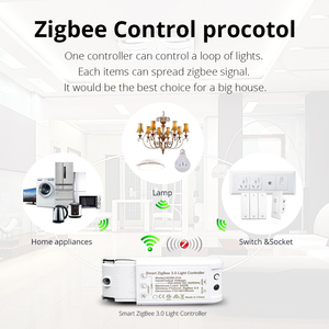 Image 4 - Zigbee 3.0 Switch For DIY Home Device Smart Remote Control By Smartthings Echo Plus Suit for Most of Zigbee Hub