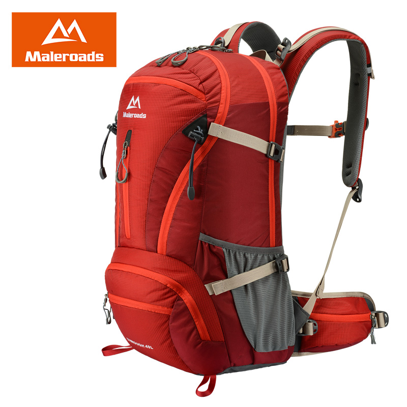 ФОТО Maleroads 40L Outdoor backpack Camping Hiking travel Backpack Mountaineering bag for climb tactical military MLS2807