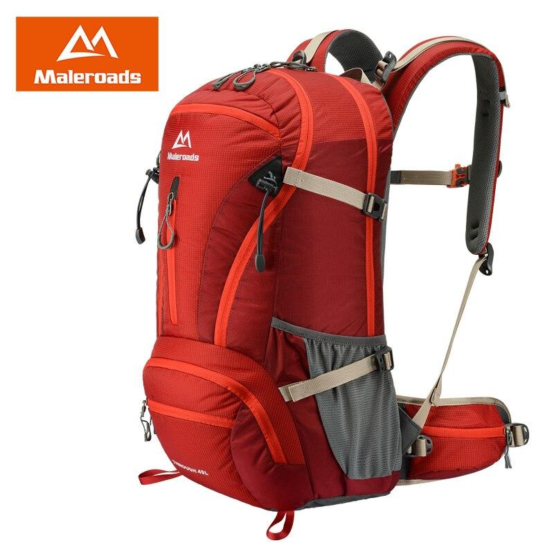 Prix pour Maleroads 40l sac à dos plein air camping randonnée voyage sac à dos alpinisme sac pour la montée tactique militaire mls2807