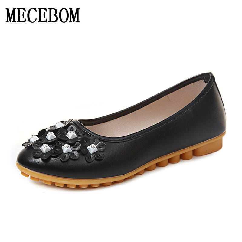 2018 New spring autumn shoes genuine leather tip flower handmade breathable Loafers Slip On Women's Flat Shoes wholesale  1143W baijiami 2017 new children solid breathable slip on pu casual shoes boys and girls spring summer autumn flat bottom shoes