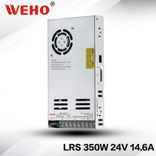(LRS-350-24) WEHO 85-264v full range ac/dc single output 350w 24v switching power supply for 3D printer
