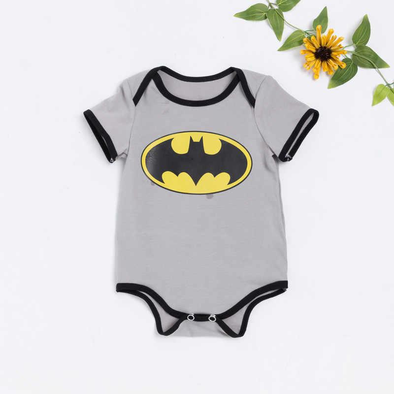 Cơ thể Đối Với Trẻ Sơ Sinh Babys Superman Quần Áo Trẻ Sơ Sinh Cặp Song Sinh Bé Bodysuits Batman Cơ Thể Bé Trẻ Sơ Sinh-quần áo