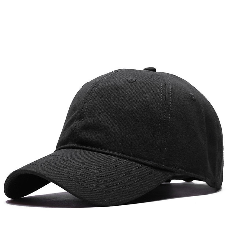 Big Size Sport Hat Cap Outdoors 100% Cotton Plain Golf Hat Good Quality Sun Cap Man Large Size Baseball Cap 55-60cm 60-65cm