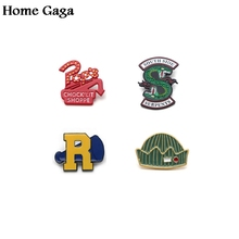 Homegaga Riverdale trendy Zinc pins Movie style stickers para diy backpack clothes for bag badge brooches men women D0948