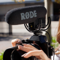 Rode VMPR VideoMic Pro R with Rycote Lyre Shockmount for Canon Nikon DSLR Cameras for Sony Camcorder